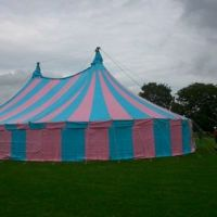 50x75ft Blue and Pink